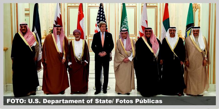 Conselho de Cooperação no Golfo e John Kerry